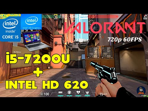 valorant-on-intel®-hd-graphics-620!-can-we-reach-60fps-on-720p?-is-it-playable?🤔