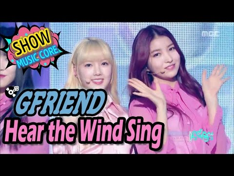 [Comeback Stage] GFRIEND - Hear The Wind Sing, 여자친구 - 바람의 노래 Show Music core 20170318
