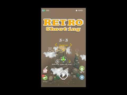 Retro Shooting, beautiful Arcade shmup game with retro graphics