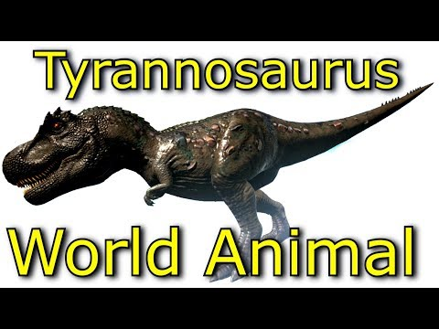 Jurassic World Animal l Planet Dinosaurs l Tyrannosaurus Learning l  Video for Kids l Part 4