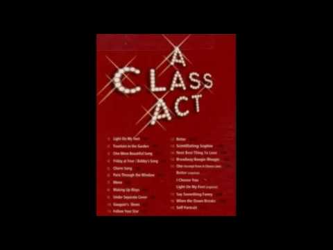 A class act - The next best thing to love