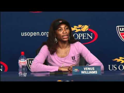 2010 US Open Press Conferences: Venus Williams (Second Round)