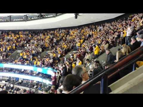 Boston College Hockey Goal Chant (Beanpot vs. BU)