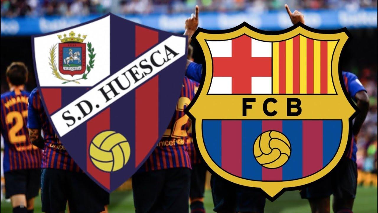 Huesca vs Barcelona, La Liga 2019 - MATCH PREVIEW - YouTube