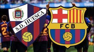 Barcelona return to la liga action on saturday against huesca, following their champions league win over manchester united. but ahead of the leg again...