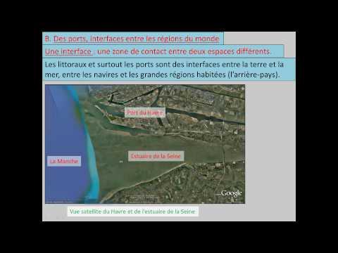 4G1 (2) : Les littoraux et les ports au centre la mondialisation