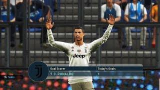 EMPOLI vs JUVENTUS FC - Full Match & Amazing Goals - PES 2019 Gameplay PC