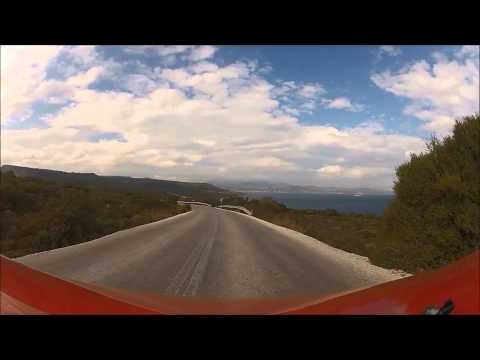 Driving in Greece | Lesvos Island | Part 1