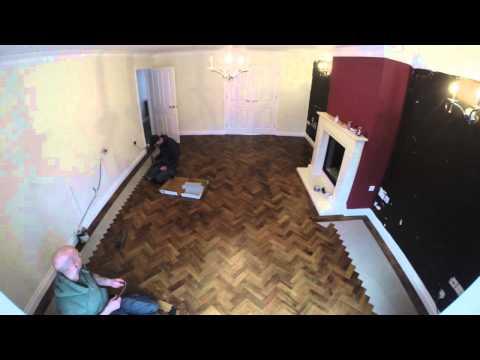 Karndean flooring Gopro timelapse