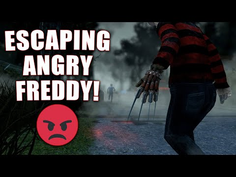 ESCAPING ANGRY FREDDY! Survivor Gameplay Dead By Daylight