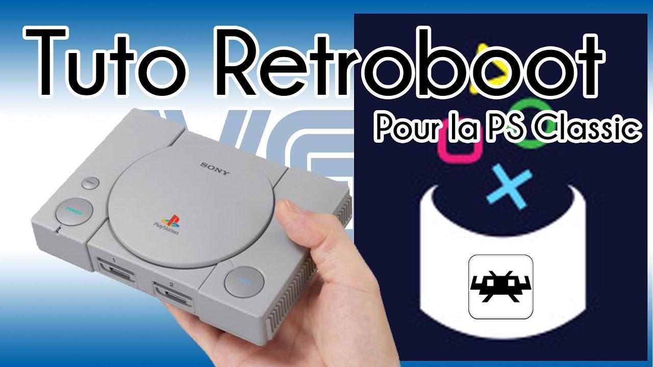 Retroboot pour PS Classic, le hack ultime ?