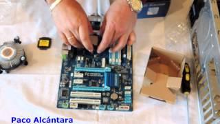 MONTAR UN PC DESDE CERO CON PROCESADOR INTEL CORE I5 3.40 Ghz.1ªPARTE