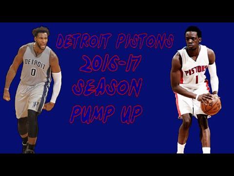 Detroit Pistons 2016-17 Season Pump Up | Night Riders