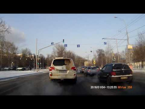 Driving in Real Time:Moscow-Saint Petersburg(Winter Drive) Part 1