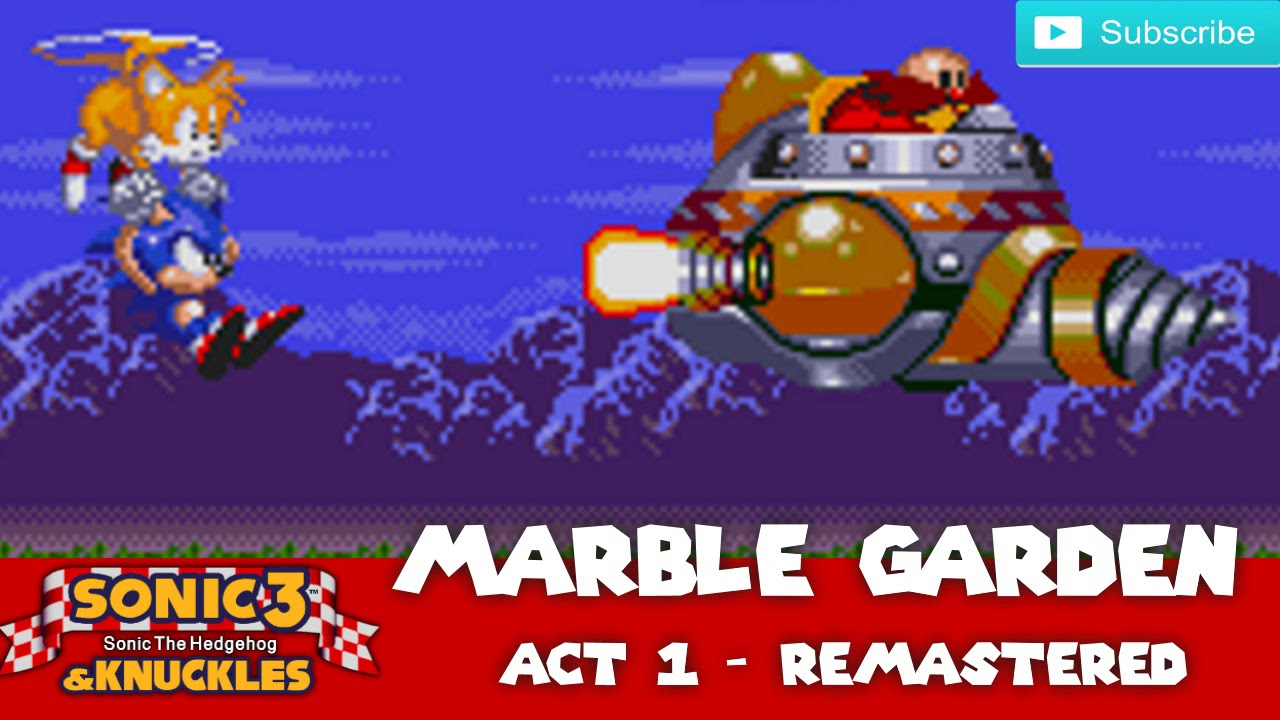 Sonic 3 & Knuckles - Marble Garden Act 1 (Remastered)