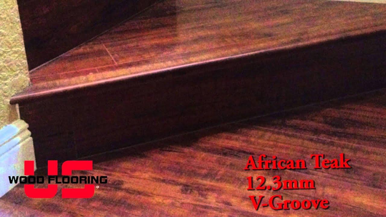 African Teak Laminate Flooring Miami Fort Lauderdale Video