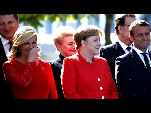 Download Youtube: RUDE: NATO Leaders Laughing at President Donald Trump Calls on NATO Allies to Pay Their 'Fair Share'