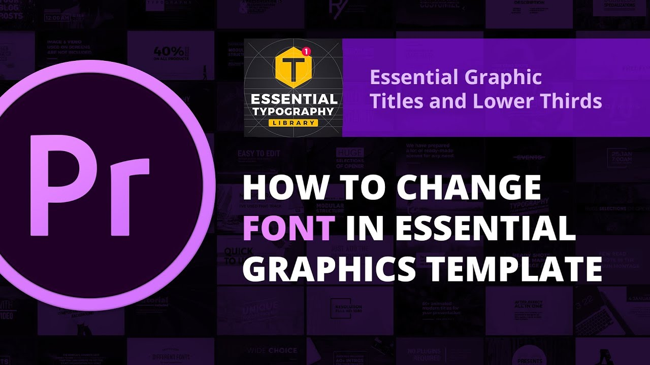Download Essential Typography Library | How to change font in ...