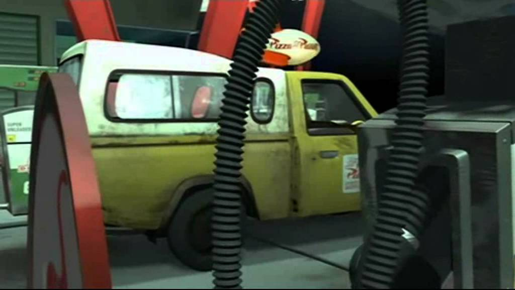 Wallpaper Woody Car Woody And Buzz Fight Scene And Pizza Planet 2 0x Speed