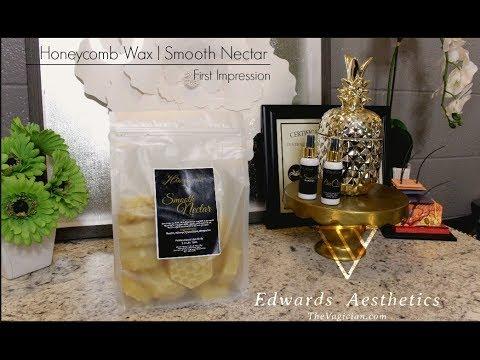 Edwards Aesthetics  Honeycomb Smooth Nectar Hard Wax  First Impression