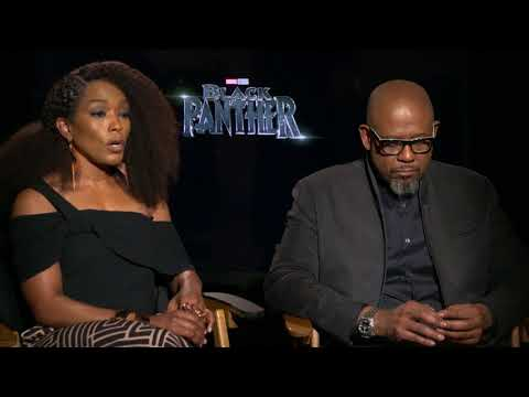 Black Panther Interview: Angela Basset & Forest Whitaker