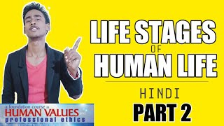 Life Stages Of Human Body Hindi-Short Video | Life Stage|Type Of Life Stage