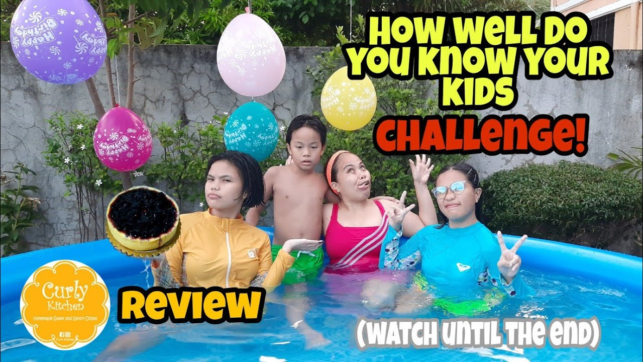 How Well Do You Know Your Kids Challenge + Jeje's 14th Bday