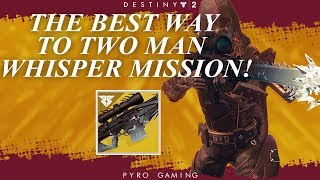 Destiny 2: How To 2 Man Whisper Of The Worm! When Will The Mission Return?