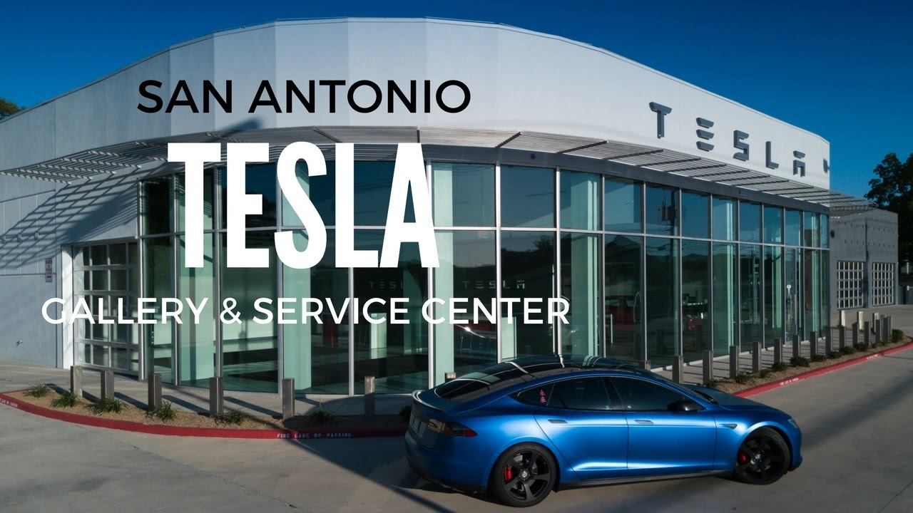 San Antonio Tesla Gallery And Service Center In 4k Youtube