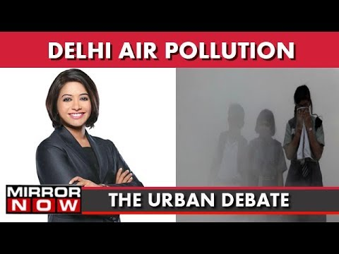 Toxic Smog Chokes Delhi, No Planned Policy To Curb Pollution? I The Urban Debate With Faye D'Souza
