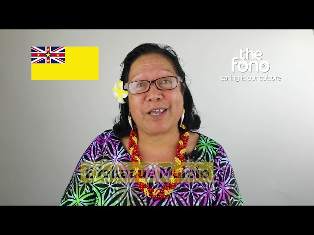 The Fono | Faahi Tapu he Vagahau Niue | Niue  Language Week 2020 | Lingi Pulesea shares some phrases