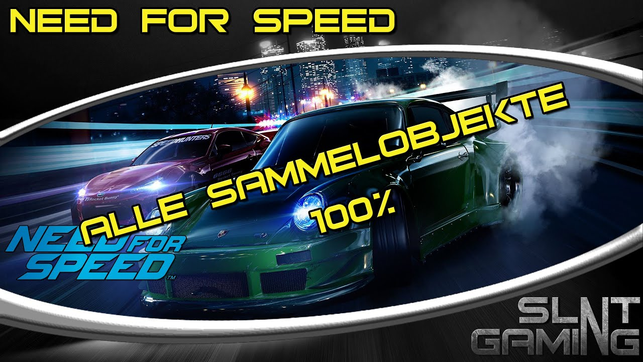 Need For Speed 2015 Alle Sammelobjekte 100 Donuts
