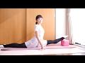 エリさんのバレエ(ストレッチ) の動画、YouTube動画。