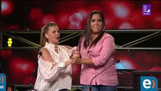 Imitadores del Grupo Niche pusieron a bailar a Katia Palma y Johanna San Miguel