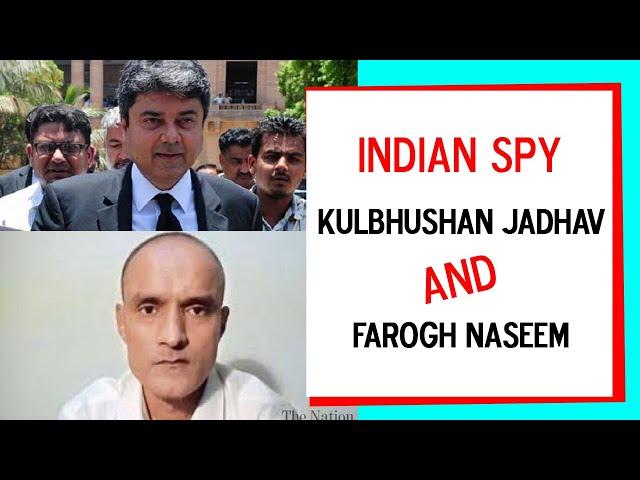 Indian spy and Farogh Naseem | Hamid Mir | 9 News HD