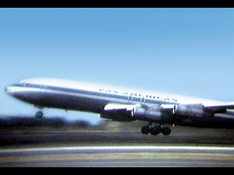 "Pan Am Boeing 707-321B - ""Take-off Honolulu"" -1969"