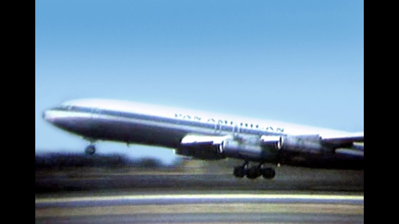 Pan American Boeing 707 321b Quot Take Off Honolulu Quot 1969