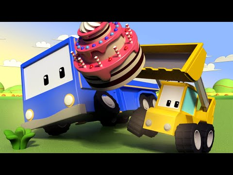 The Party - Tiny Trucks for Kids with Street Vehicles Bulldozer, Excavator & Crane