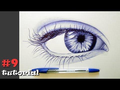 Как нарисовать ручкой рисунок