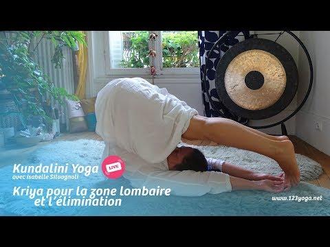 16 • Kundalini yoga live ❤︎ kriya pour la zone lombaire et l'élimination