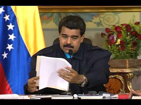 Cadena completa: Nicolás Maduro responde ante sanciones de Barack Obama