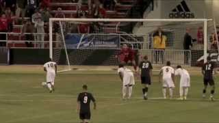 2014 NCAA 3rd Round: UMBC Men's Soccer vs No.13 Louisville Highlights 11/30/14