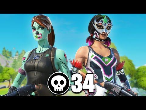 34 Kills In Chapter 2 Fortnite!!