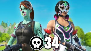 34 Kills In Chapter 2 Fortnite!!