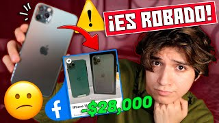 ME VENDIERON UN iPhone ROBADO POR FACEBOOK *Estafa* - Story Time | VlogsPaper