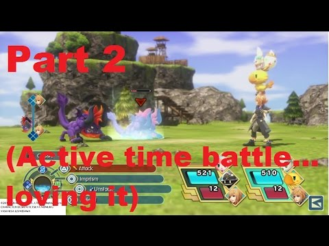 WORLD OF FINAL FANTASY Dungeon Demo Part 2   (Active time battle... loving it)