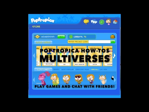 How To Chat And Play Games With Friends In A Poptropica Multiverse