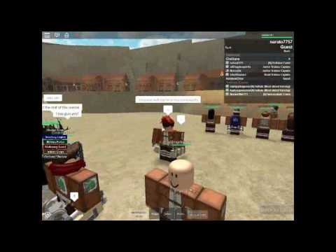 Attack On Titanmilitary Police Roblox Roblox Attack On Titan Universe Official Intro To Military Police And Trainee Corps Youtube