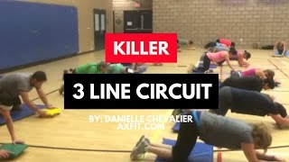 Killer 3 Line Circuit - Bootcamp Circuit Ideas
