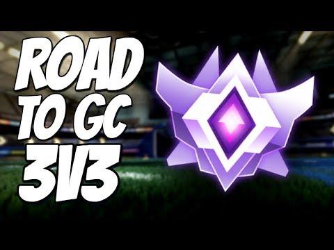 I'M BACK! | Road to Grand Champion 3v3 (Rocket League Gameplay) thumbnail